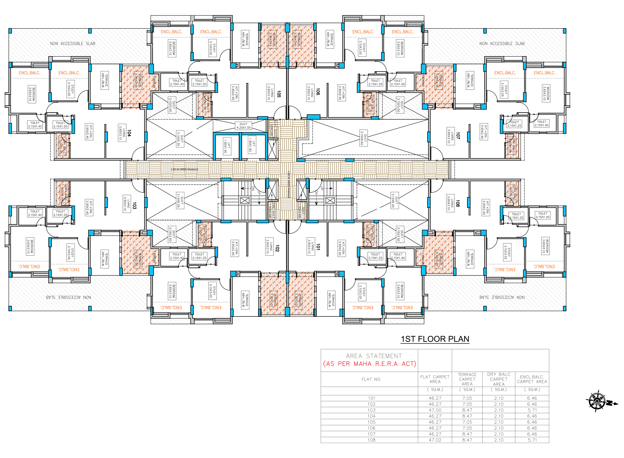 Neo City_Phase 1 E Type –1 FLOOR PLAN