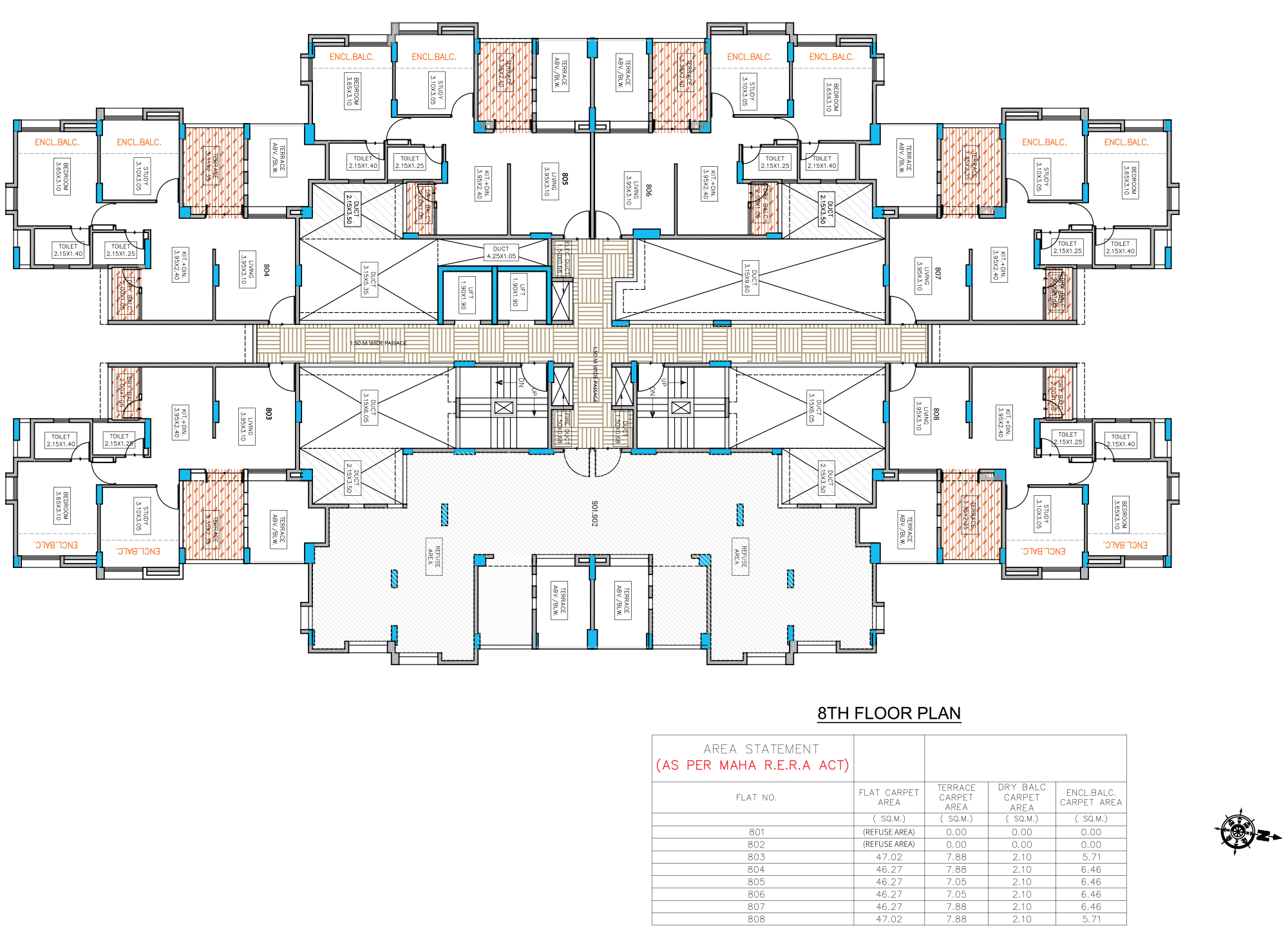 Neo City_Phase 1 E Type –8 FLOOR PLAN