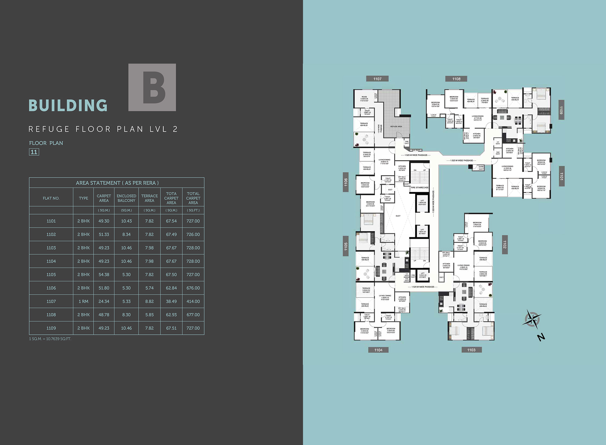 Equilife Homes_Building B Floor Plan 11